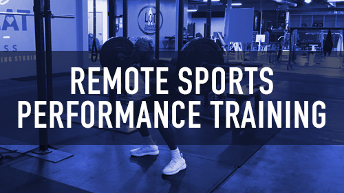 Remote Sports Performance Training